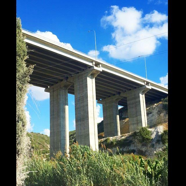2nd highest bridge in lebanon southlebanon lebanon bridge autostrade ...