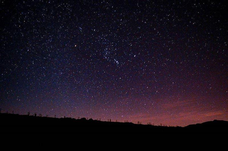 Chasing stars 🌌🗻🌌.... night nightphoto clearsky stars milkyway... (Kfardebian)