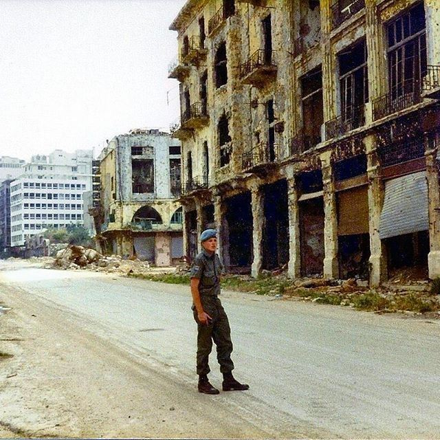 Beirut Martyrs Square - 1983 .