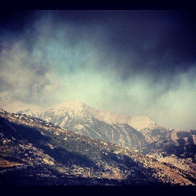 mountain clouds sky nature colors southlebanon landscape lebanon ...