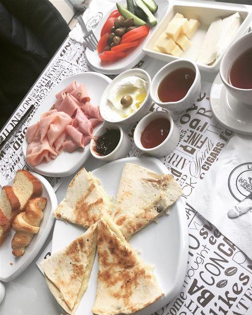 goodmorning breakfast lebanon foodporn like4like yummy instafood ... (Jbeil جبيل)