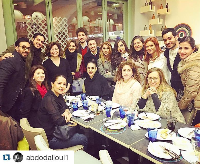Repost @abdodalloul1 with @repostapp.・・・Thank you @jananemallat for the...
