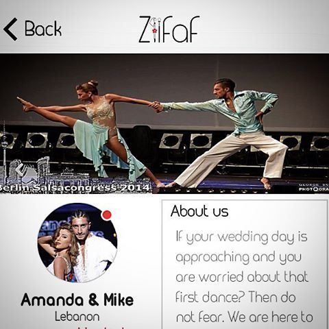 We are on @ziifaf app ! Get your wedding preparations started! We are here...