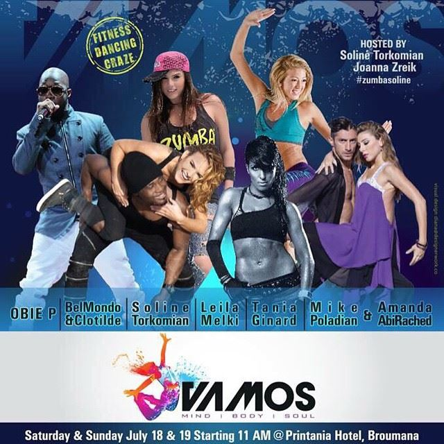 For the first time ever in Lebanon, VAMOS - body mind and soul -the World's