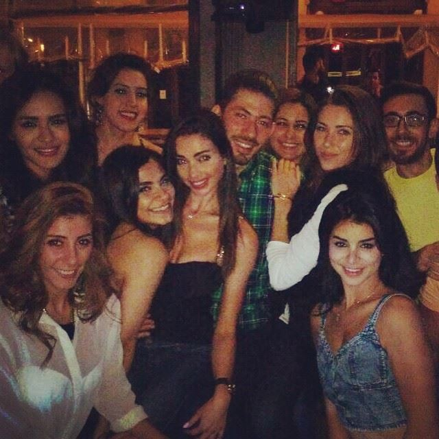 Suga' babes! Fun night <3 dwtsme mamasitas ladies nightout beirut ... (Uruguay Street)