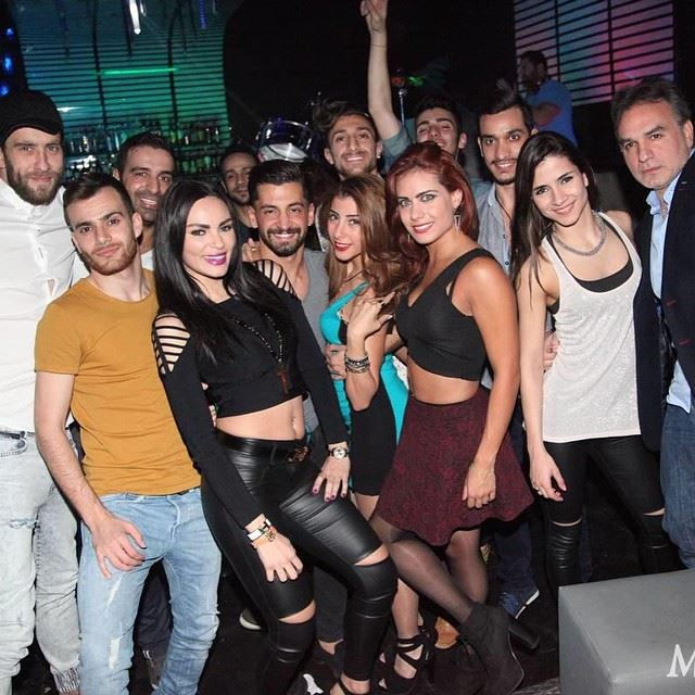 Crazy night <3 dwtsme amandaabirached dancers stars lebanon ... (Exist Beirut)