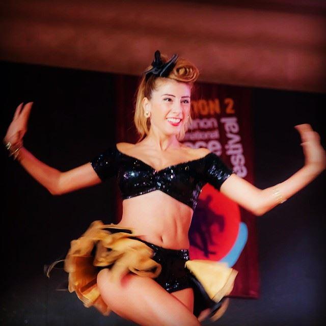 Because I'm happy happy dance lebanondancefestival amandaabirached ...