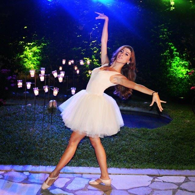 Being Tu-tu cute ballerina weddingshow lebanon dancer professional ... (Domaine du Comte)