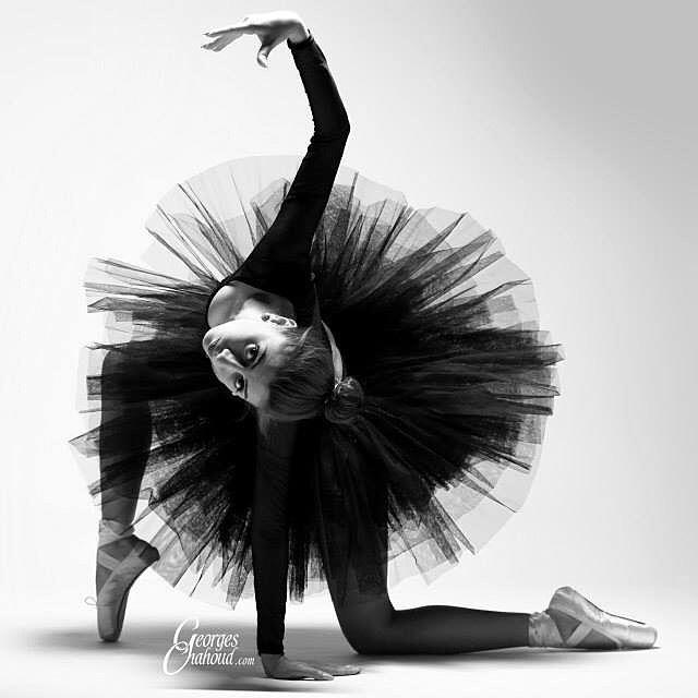 Dark dancing Photoshoot ballerina blackandwhite photographyart ...