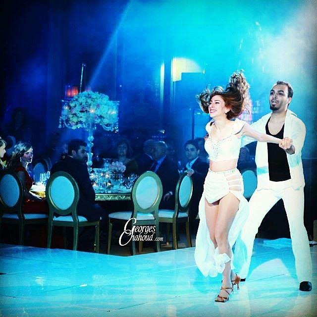Because i'm happy! fourseasons show georgeschahoud wedding crazy ... (Four Seasons Hotel Beirut)
