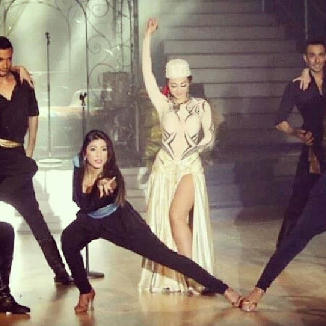 dwtsme  queen of  stage  professional  dancer  arabic  lebanon  stars ...