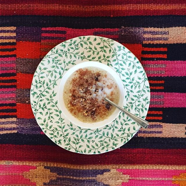 Yesterday, I had tried this porridge made up of quinoa flakes for the...