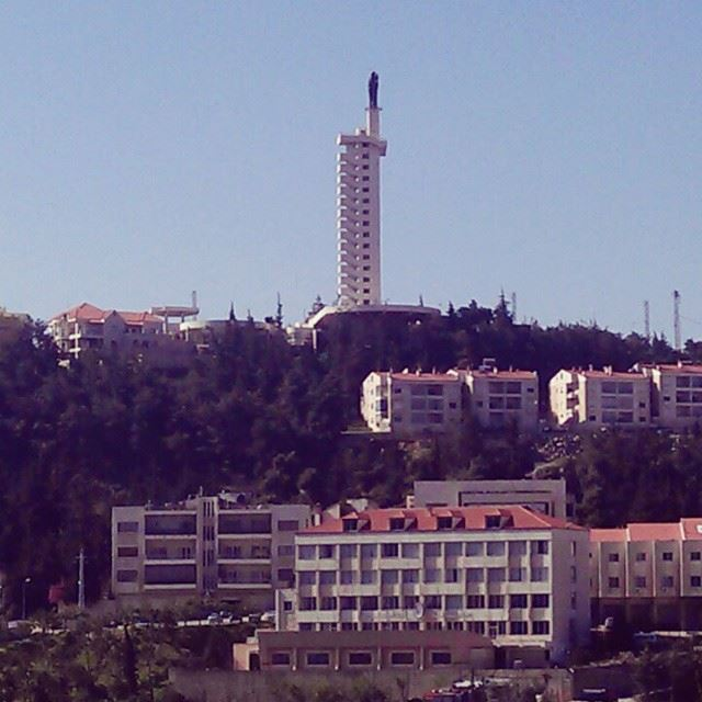 The lady of Zahle zahle bekaa lebanon livelovezahle livelovebekaa... (Zahlé, Lebanon)
