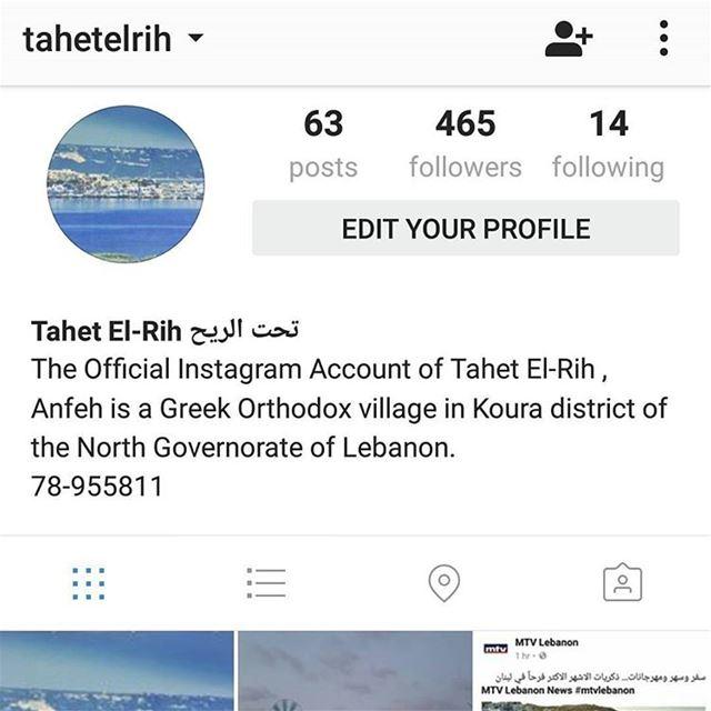 "Follow Tahet El-Rih Account on Instagram @tahetelrih""Tahet El-Rih 78-95581"