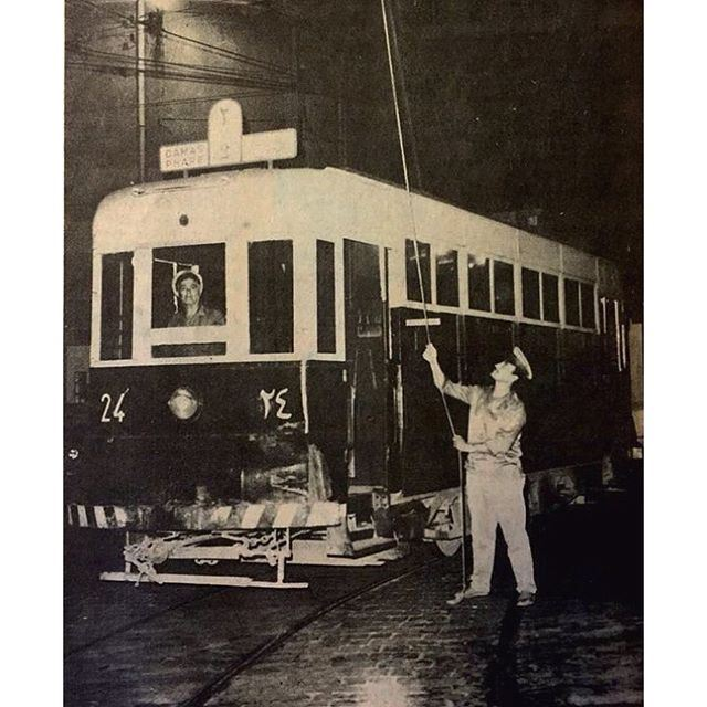 22 July 1965 , it's all over the last Tramway has been taken out of circulation Beirut1965 TramwayBeirut .