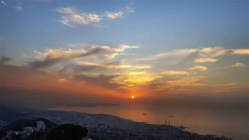 Sunsets in November 🌅 (Harîssa, Mont-Liban, Lebanon)