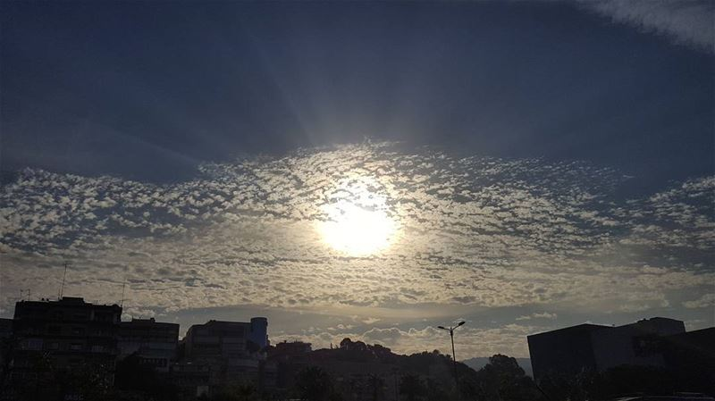 Morning over the skyline ⛅ (Beirut, Lebanon)
