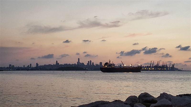 Good evening Beirut 🌣 (Beirut, Lebanon)