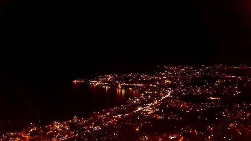 Skipping the weekend traffic.A view from above 🌃 (Our Lady Of Lebanon-Harisa)