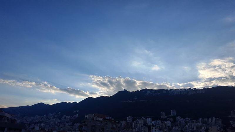 It's a new day 😊 sunrise jounieh ... (Jounieh - Lebanon)