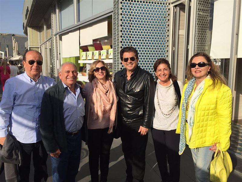 غداء مع الأحبة عائلة الأخ مفيد بيضون في الزيتونة باي وليد_توفيق .. لبنان (Zeitouna Bay, Beirut , Lebanon)