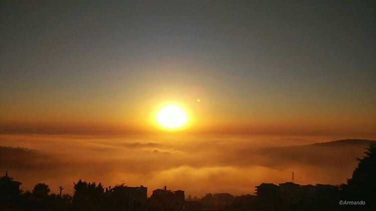 Because I can count on my fingers the number of sunsets I have left, and I... (Dhoûr Ech Choueïr, Mont-Liban, Lebanon)