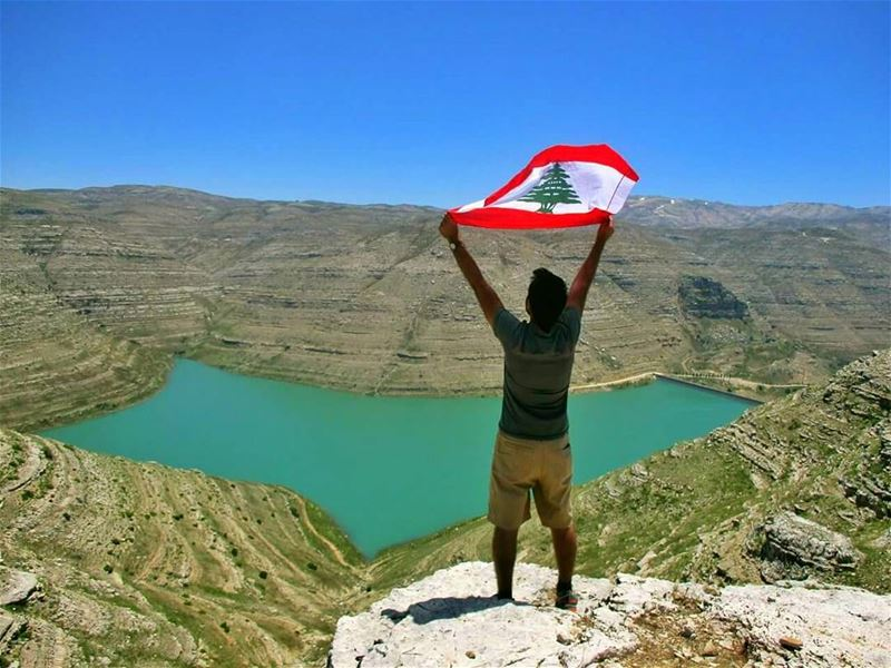 When you set a good example to the world, you become a flag waving in the... (Chabrouh Dam)