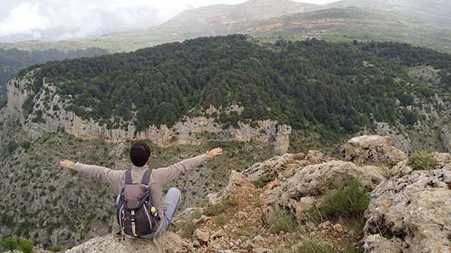 Climb mountains not so the world can see you, but so you can see the world... (Qornet er Ribâzi)