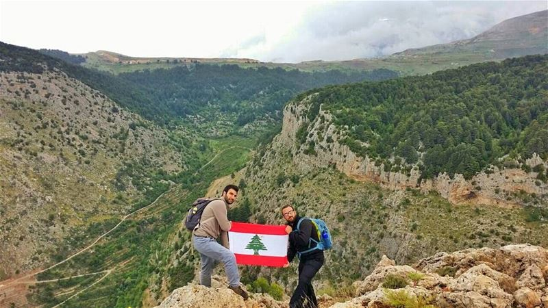 Every mountain top is within reach if you just keep climbing 😎💪 Mount... (Qornet er Ribâzi)