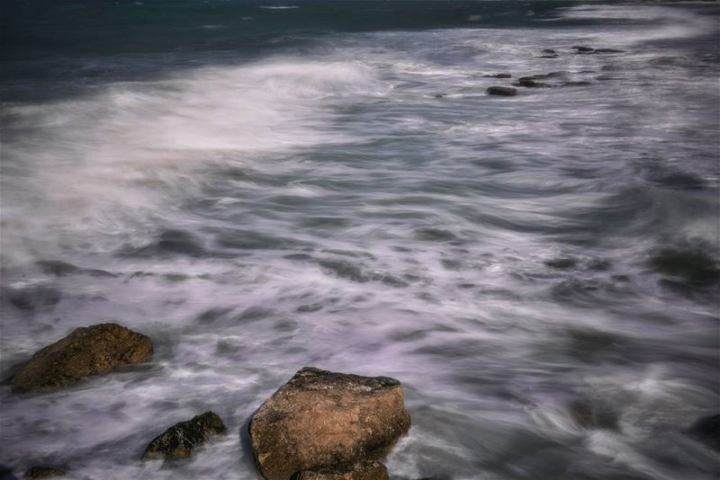 landscape seascape mediterranean sea beach lebanon coast wind...