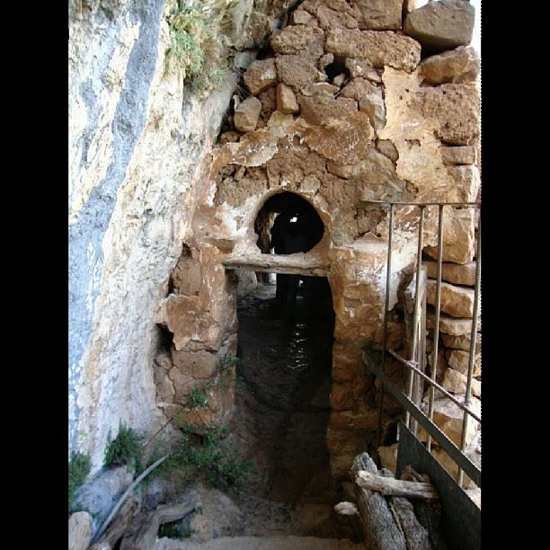 Built way before the year 1200 at the Holy Valley Lebanon mountains ...