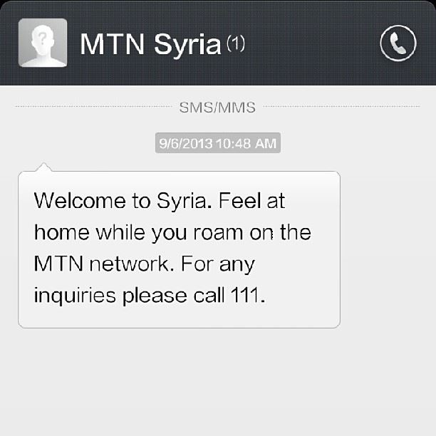 That awkward moment when you are in Zahleh Lebanon and you get greeted...