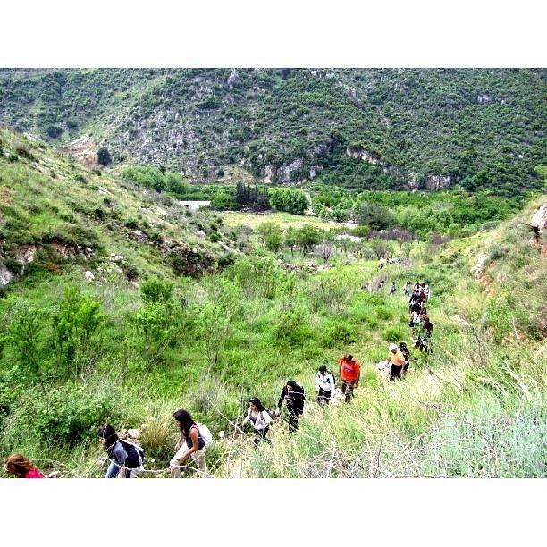 Hiking up the hills in Oyoun El Samak insta_lebanon instalebanon ...