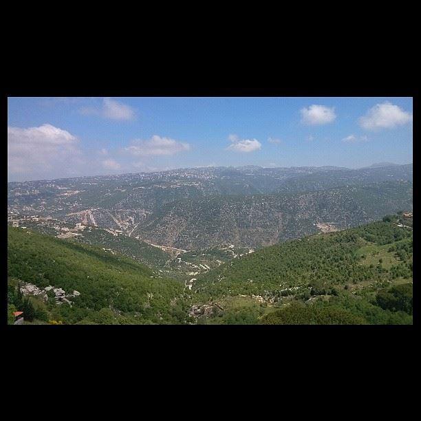 kleiat lebanon kesserwen amazing view from my balcony insta_lebanon...