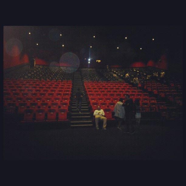 Largest cinema in Lebanon! Taken at 1AM after watching...