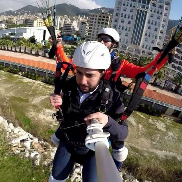 beirutparagliding omar&maroun adrenaline happy smile landing ...