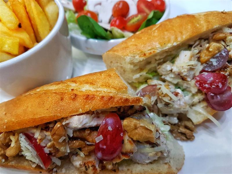 Feeling hungry?  crepaway  beirut  lebanon  delicious  dinner  sandwich ...