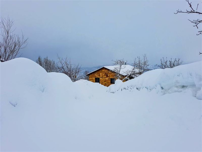 snow houses lebanonhouses ... (Lebanon)