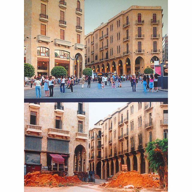 Beirut Parliament Square 1996-2003 .