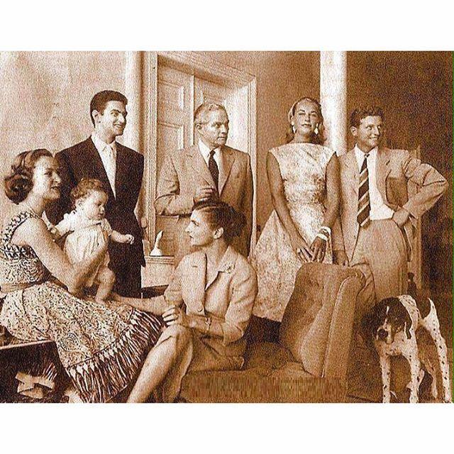 عائلة الرئيس كميل شمعون ،