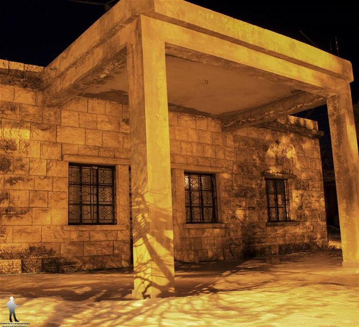 Don't tell people your dreams, show them. oldhouse nightlandscape ... (Jbaa Al Shouf)