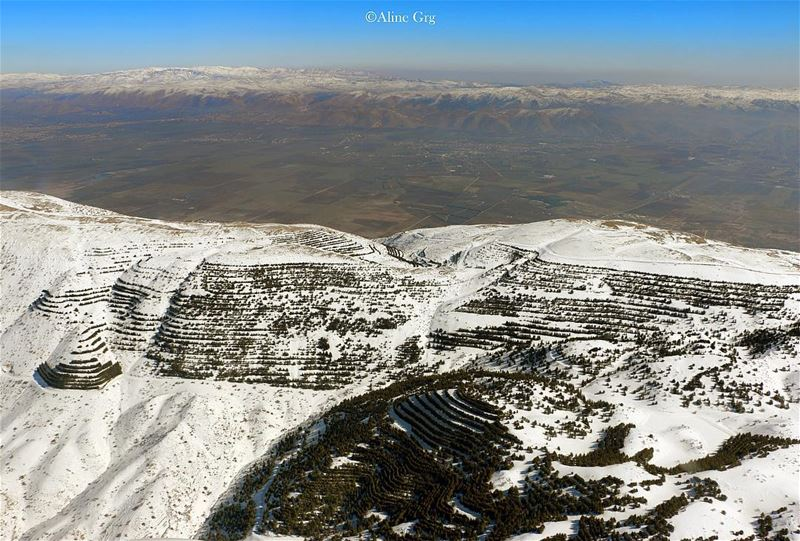 From livelovechouf to livelovebekaa 💚💙 baroukcedars barouk mountain... (Arz el Bâroûk)