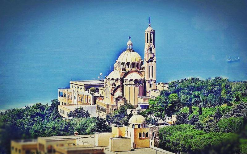 Harisa - St. Paul's Basilica - حاريصا - بازيليك القديس بولس By Bshara...