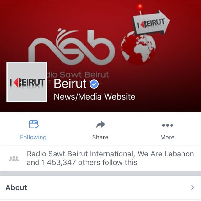 More than 1.4 million fans on our Verified facebook account! Lebanon ...