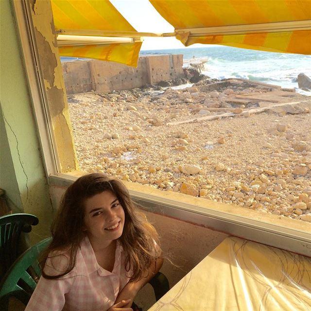Olivia @Café Rawda, Beirut city ☀️ beirut lebanon sea instamood ...