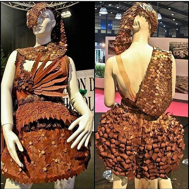 "Chocolate fashion shows have always seemed a bit excessive and decadent... (Biel ""Beirut Waterfront"")"