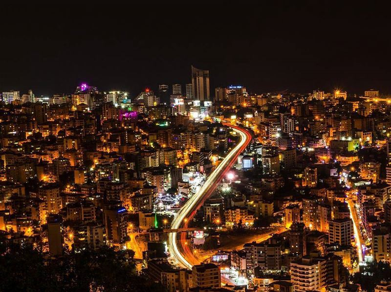 Christmas Night 🌙By @fadibad ChristmasNight AboveBeirut Jounieh ... (Jounieh - Harissa)