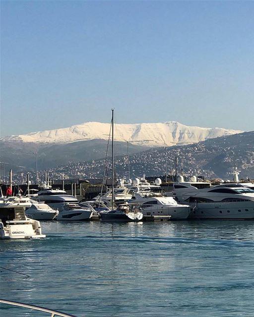 West slope of Mount Sannine🏔الجهة الغربيّة لجبل صنّين🏔Le versant ouest... (Port Jounieh - Bay)