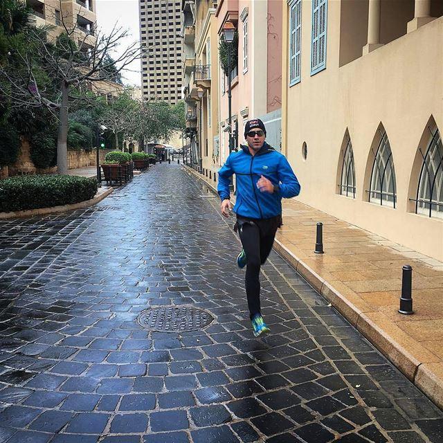 Run for a good cause...YOURSELF 💪By @louaiarab Beirut Liban Libano ... (بيت الوسط)