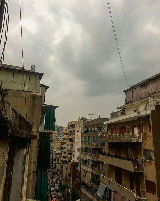 What a beautiful way to start December! Thunderstorms & rain...Good... (Beirut, Lebanon)